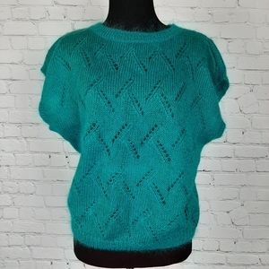 Renee' Tener for Jeanne Pierre Mohair Sweater M